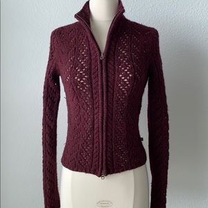 Abercrombie & Fitch full zip sweater